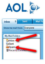 AOL Menu